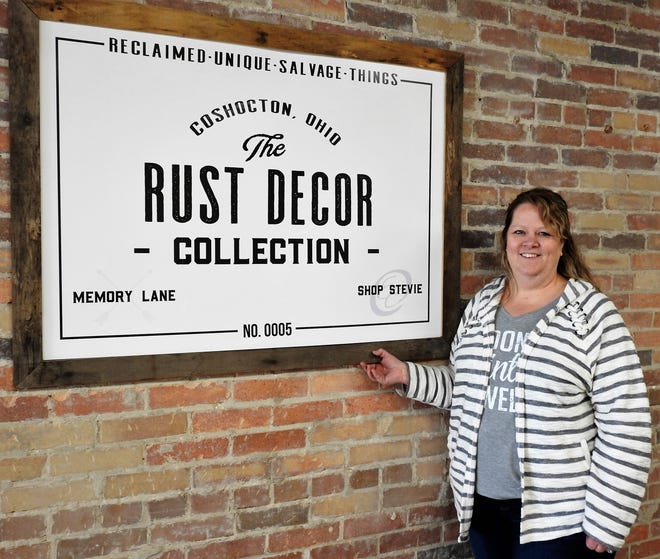 Jill Sheridan of Rust Décor is excited for the business to open in its new location at 116 S. Sixth St. on March 12. The store will feature about 30 vendors selling a variety of items along with a clothing boutique and space for craft workshops.