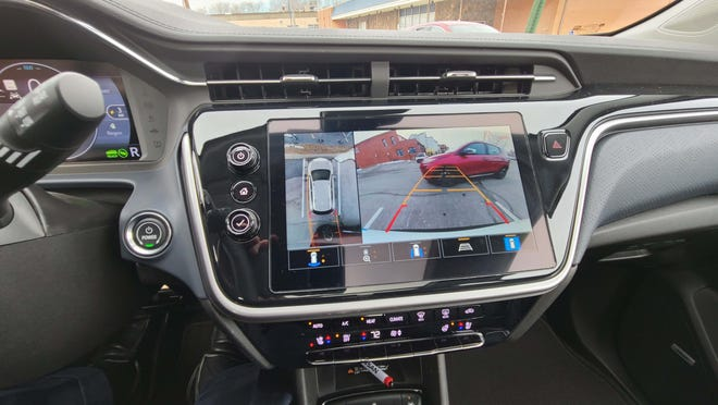 The 2022 Chevy Bolt EUV comes with a sharp, high-def, rear-view camera.