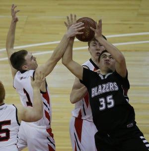 Northeastern Wisconsin Lutheran senior forward  Marshal Bukowski is averaging 19.3 points and 7.6 rebounds this season.