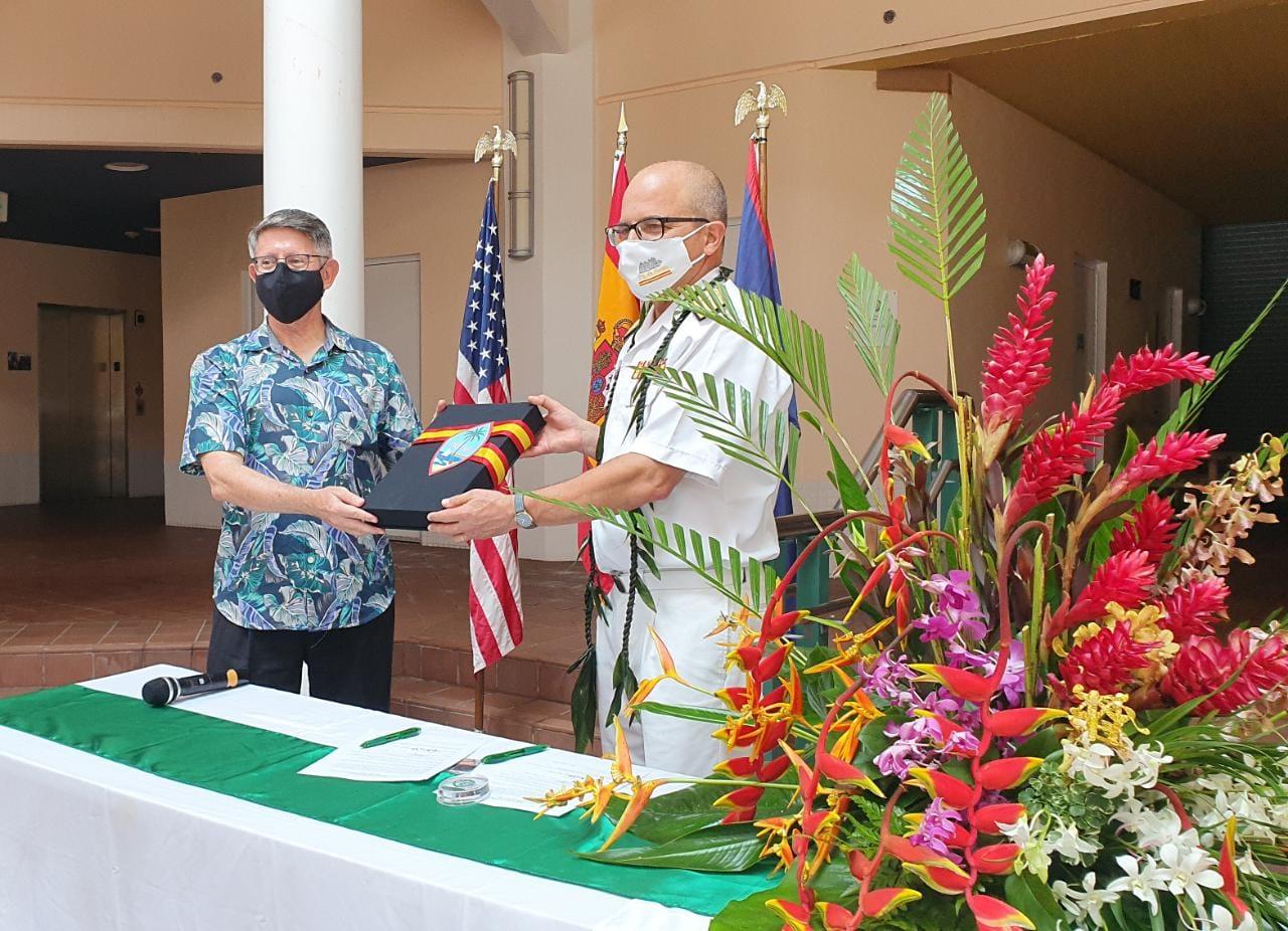UOG President Thomas Krise on Magellan anniversary