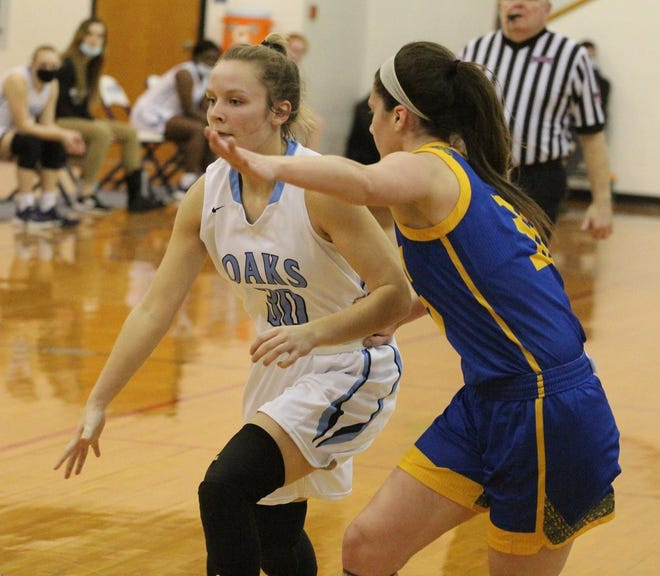 Emilee Hope, a freshman at Oakland City University from Henderson, was named the River States Conference's Newcomer of the Year.