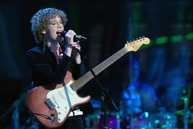 "Raine Stern, a New Glarus native living in Madison, auditioned on the season 20 premiere of ""The Voice"" that aired Monday. Stern selected Nick Jonas as her coach."