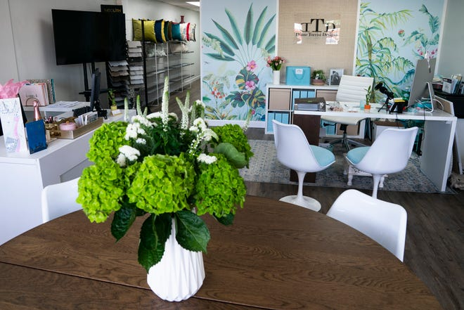 Clients are able to meet with designers Diane Torrisi and Candice Kelber their design studio on Old 41 Road in Bonita Springs, photographed on Tuesday, March 2, 2021.