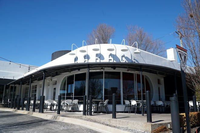 The Garage restaurant in Northville.