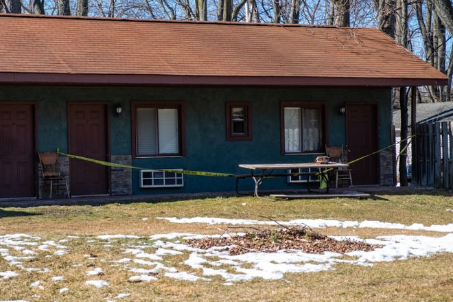Deputies are on the scene of a death investigation on Lakeshore Road Tuesday, March 2, 2021, in Burtchville Township. It isn't known if the death is suspicious or not.