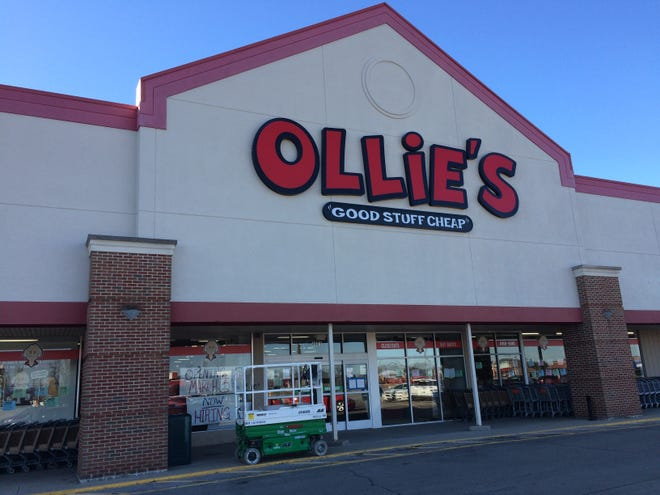 Ollie's Bargain Outlet will open 9 a.m. March 3 at 4601 National Road E. in the Gateway Shopping Plaza.