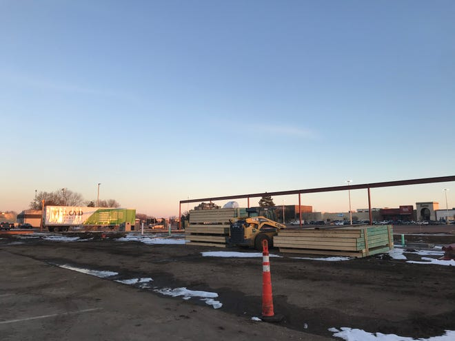 Building permits were issued for two buildings at the Empire Place Retail Center location last week.