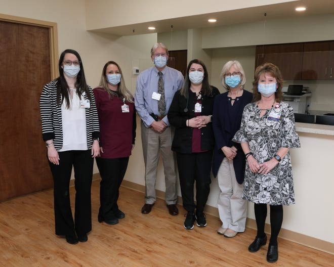 Augusta Health Buena Vista Primary Care staff. The new medical office opened its doors on Monday, March 1, 2021.
