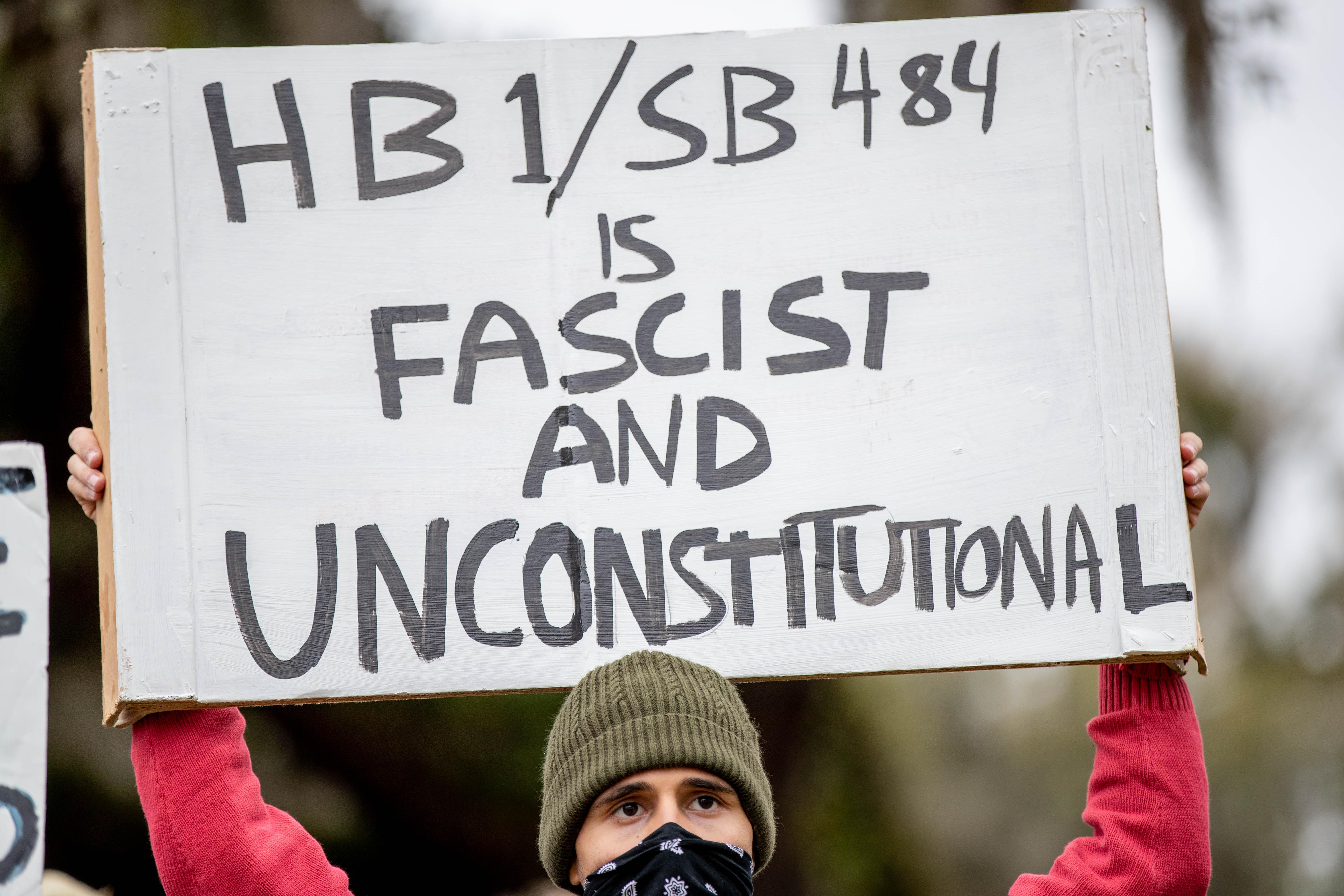 Activists across Florida condemn passage of Gov. Ron DeSantis' so-called anti-riot bill 1