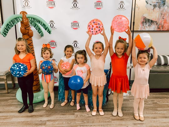 Children participating in the Shock Dance Center day camp.