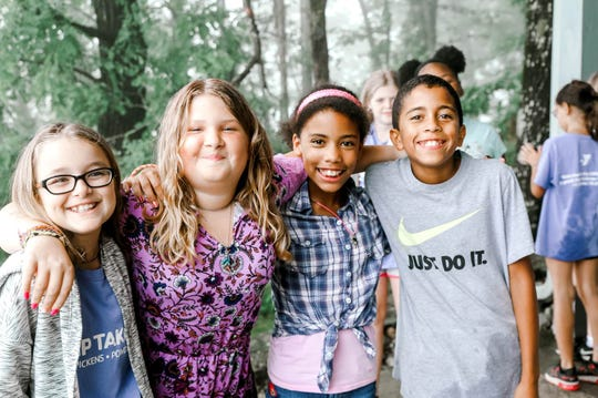 Children participate in YMCA Day Camps