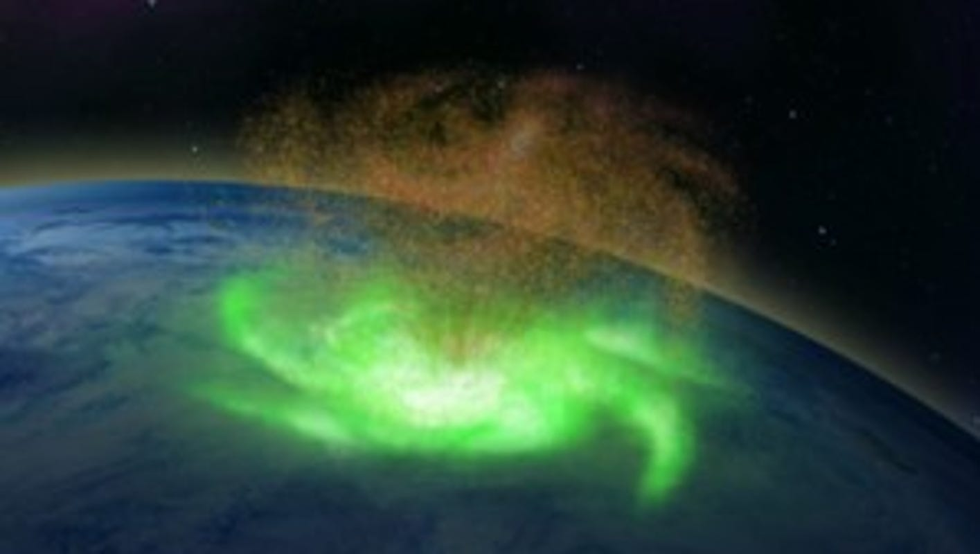 A 'space hurricane' hovered above the North Pole for about 8 hours, study says