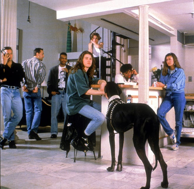 The first-season cast of MTV's 'The Real World' in 1992.