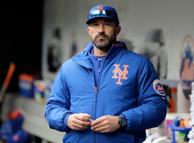 Mickey Callaway, now pitching coach for the Los Angeles Angels, has been suspended by the team since Feb. 2