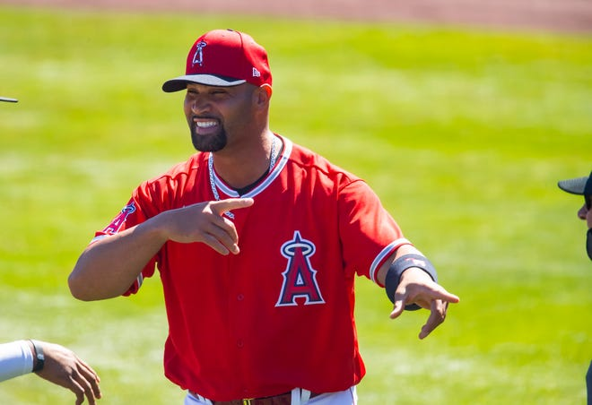 Pujols is in the final season of a 10-year deal he signed with the Angels after the 2011 season.
