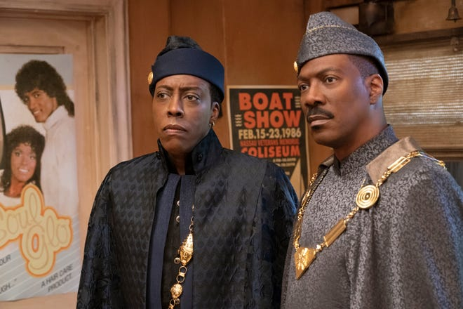 "Arsenio Hall and Eddie Murphy star in ""Coming 2 America,"" the sequel to the classic ""Coming to America"" from 1988."