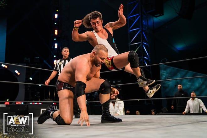 Boone native JJ Garrett recently made his AEW wrestling debut.