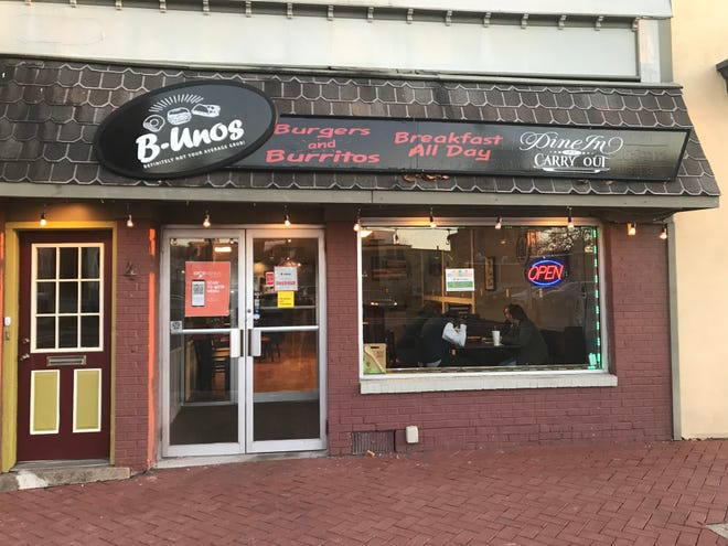B-Unos at 4 Mill Street in Mount Holly.