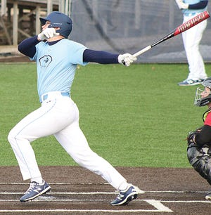 Senior Braeden Winters brings a powerful bat to the Bartlesville High School lineup. He has signed a letter of intent to play linebacker in college.