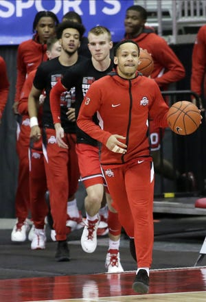 Ohio State guard CJ Walker will lead the Buckeyes onto the floor for the final time at Value City Arena on Saturday, OSU's Senior Day, against Illinois.