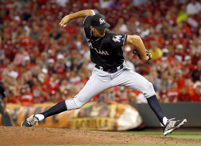 Former Florida Marlins pitcher and Falmouth native Steve Cishek has signed a minor league contract with the Houston Astros.