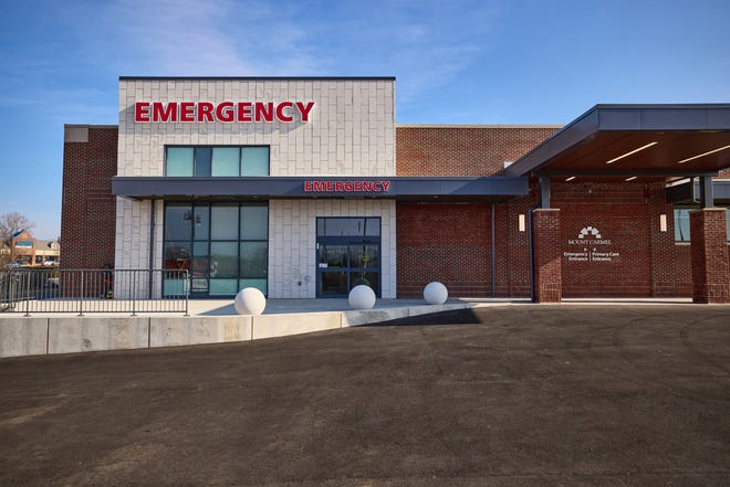 Mount Carmel Health System opened this free-standing emergency room facility on Tuesday.