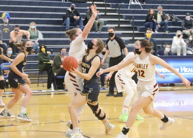 Emma Borowicz averaged 14 points per game for the Crookston girls' basketball team this season.