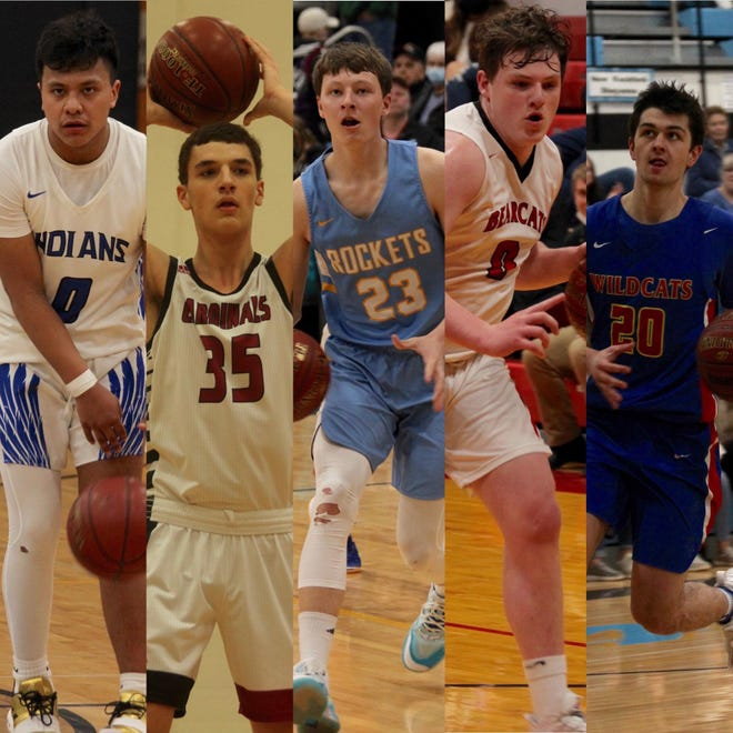 Four Winds/Minnewaukan, Langdon/Edmore/Munich, New Rockford-Sheyenne, North Star and Benson County will be competing in the Region 4 boys basketball tournament.