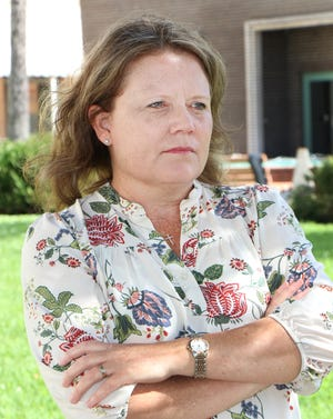 Susy Peterson, the former Volusia County online learning principal, Wednesday March 3, 2021 in DeLand.