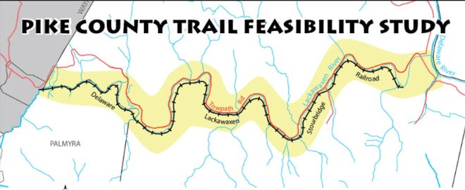 An approximate 14-mile walking trail has been proposed alongside the Delaware Lackawaxen & Stourbridge Railroad tracks, between Hawley and Lackawaxen, Pa. Public input is sought for study looking at the trail's feasibility.