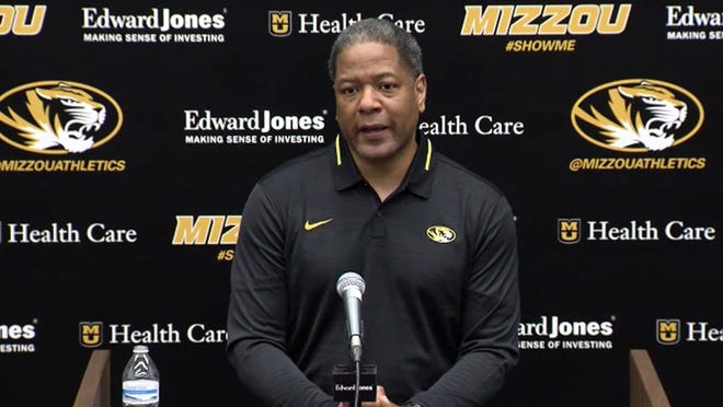 New Missouri defensive coordinator Steve Wilks speaks to reporters via Zoom during his introductory news conference. Wilks was hired to overhaul a Tigers defense that struggled last season.