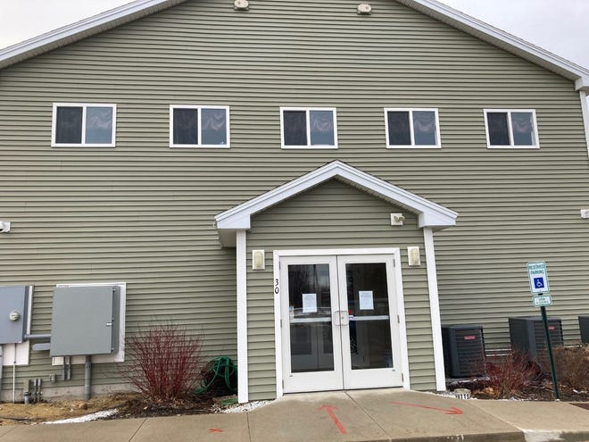 Strafford County Extreme Cold Weather Warming Center at 30 Willand Drive.