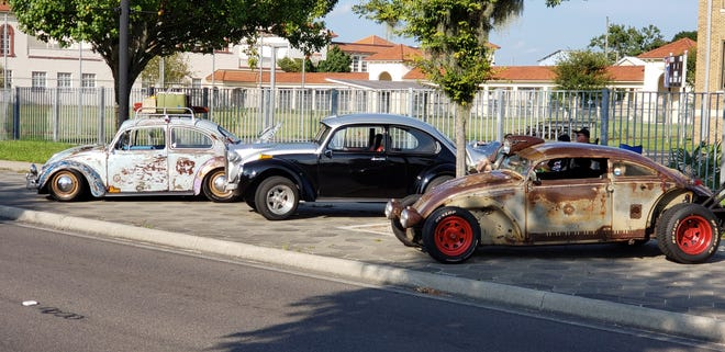 Beetles of all kinds at a recent Historic main Street Cruise.