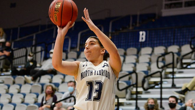 Rhetta Moore and the University of North Florida are on the verge of clinching the highest seed (third) in school history in the ASUN Tournament.