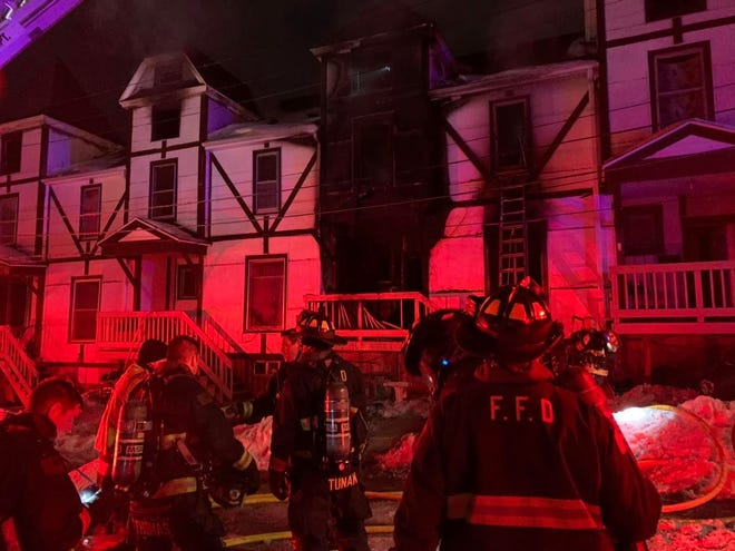 Freeport firefighters have been busy lately with four residential fire calls, including this one on Jan. 29, 2021, at 509 W. Broadway St.