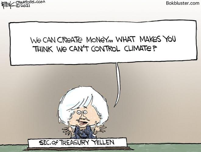 Today's editorial cartoon (March 4, 2021)