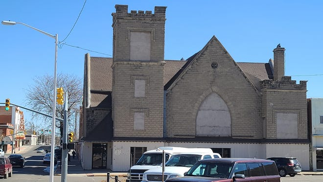 Urban Renewal Director Cynthia Nieb proposed a building and financial analyses project for the Third St. and Santa Fe Ave. Presbyterian Church that would total $68,130.