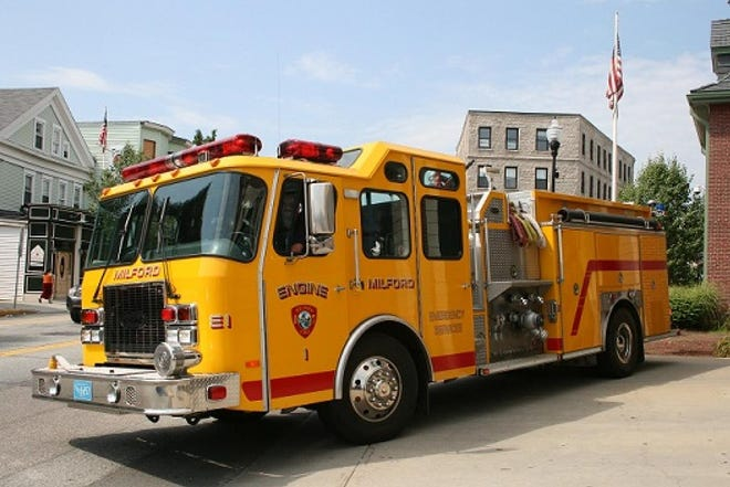 Milford Fire Department's Engine 1