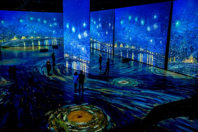"""""""Imagine Van Gogh"""" is an immersive exhibition coming to Columbus."""