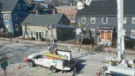 Middle Street tree's fall knocks out power