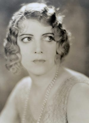 Guinan in a portrait taken in 1920. Born and raised on a ranch in Waco, she would eventually move to New York City where she'd make her name as an actress and speakeasy hostess.