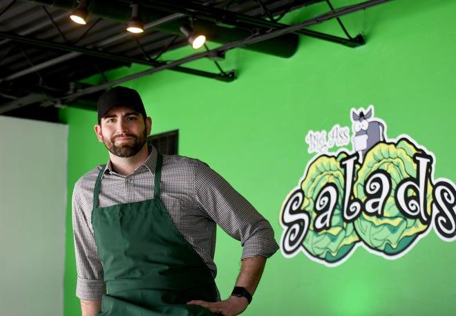 Brandon Schmidt, owner of Big Ass Salads