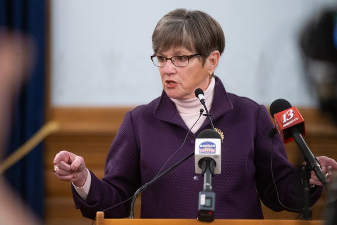 Gov. Laura Kelly vetoed legislation Thursday banning transgender athletes from competing in girls' and women's sports, citing potential effects to the state economy