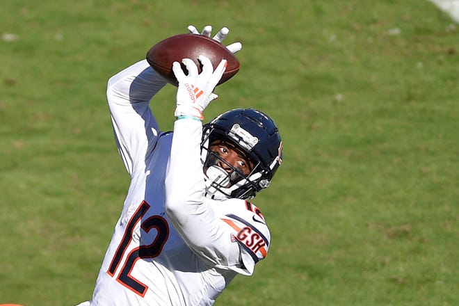 Free agent wide receiver Allen Robinson has produced in multiple offensive systems.