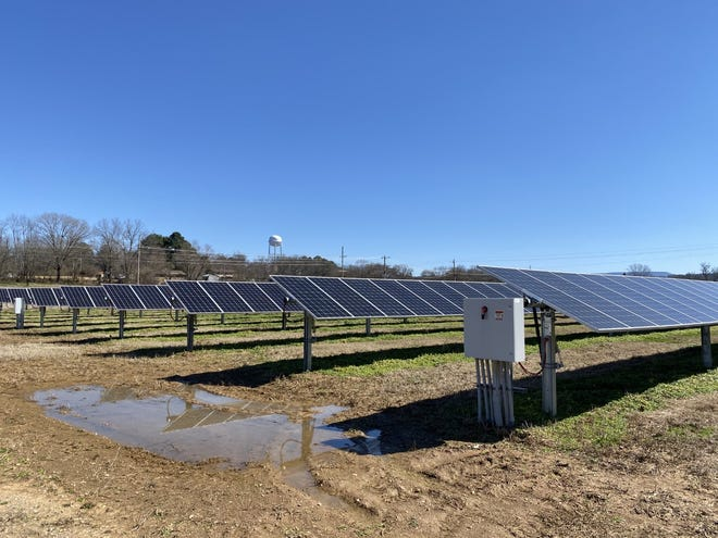 Open Road Renewables, based in Austin, Texas, has been talking to local farmers for almost two years about leasing their land for solar panels connected to American Electric Power's Croton substation about a mile north of Hartford.