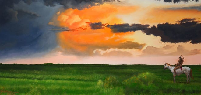 """""""A Clearing on the Plains,"""" by Jon Williams"""