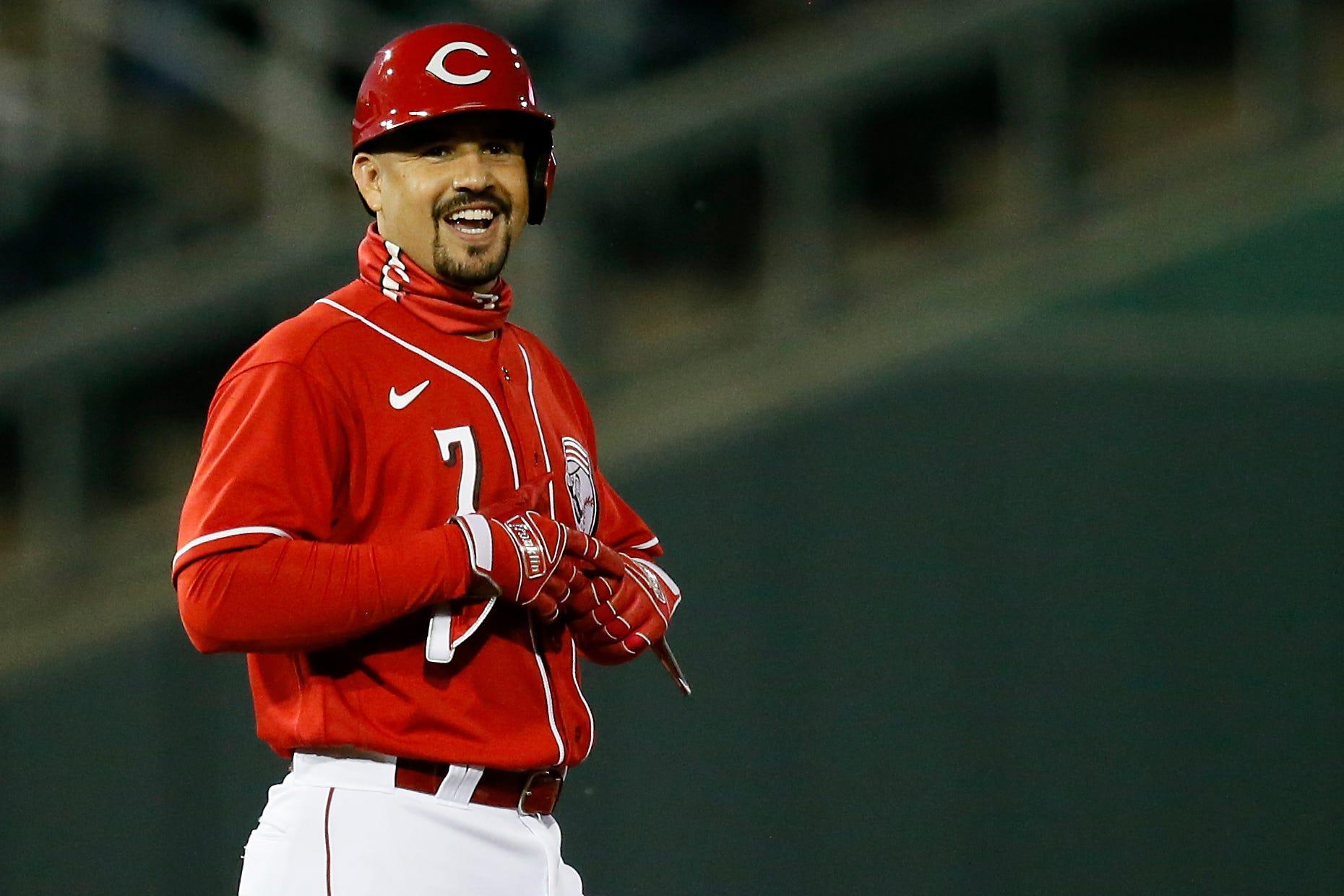 Cincinnati Reds roster: Eugenio Suarez thrilled to return to shortstop