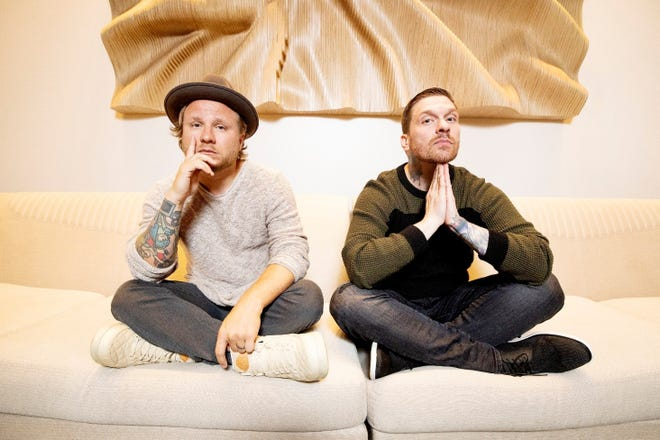 Smith & Myers, the duo featuring Brent Smith, right, and Zach Myers of Shinedown, has announced a spring tour that includes a May 21 stop in Green Bay.
