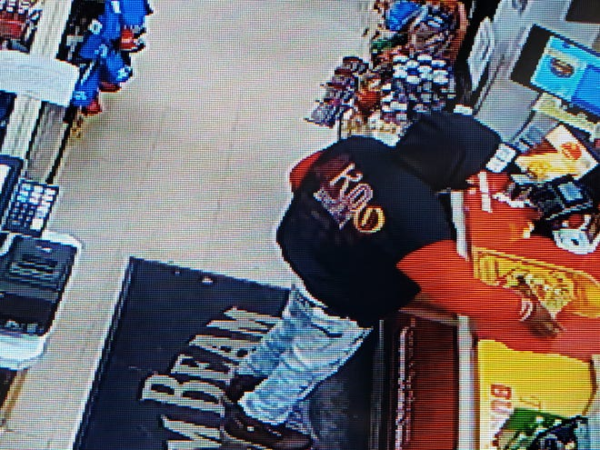 Green Bay police are asking for the public's help to find a man who was wearing a distinct Akoo jacket after an armed robbery Tuesday night on Manitowoc Road.