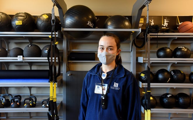 Licking Memorial Health Systems physical therapist assistant Erika Wills uses her background in dance performance to help patients rehabilitate by teaching movement, body mechanics, and how to manage pain and impairments.